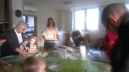 Wenscht - Plätzchenbacktag 2015 - Kooperation Kita Jasminweg und KSG